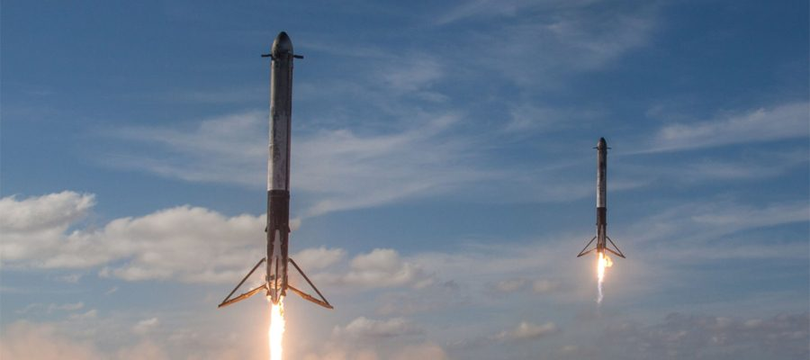boosters de SpaceX
