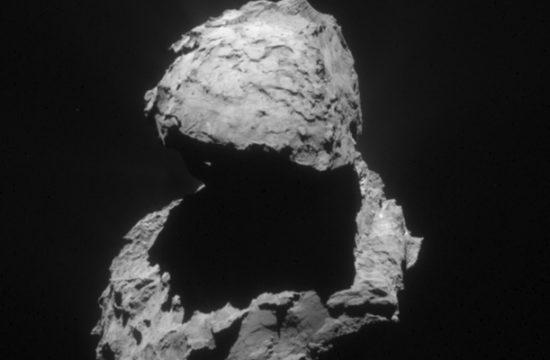 La comète Tchouri