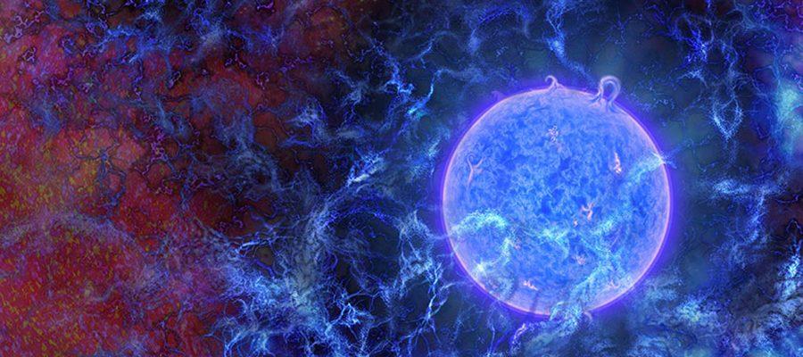 premières étoiles de l'Univers