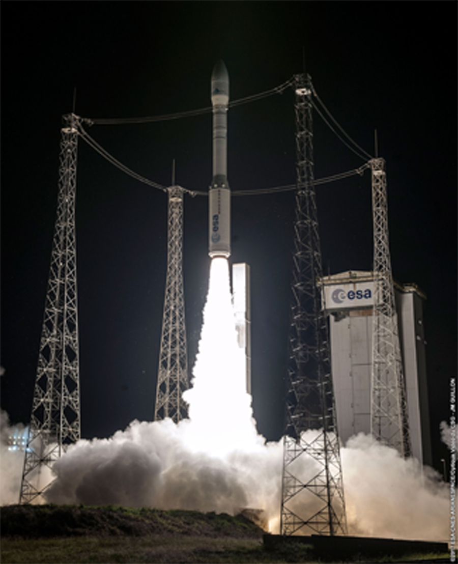 Le lanceur Vega