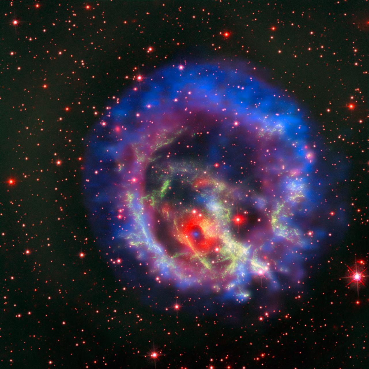 Une étoile à neutrons isolée dans le Petit Nuage de Magellan