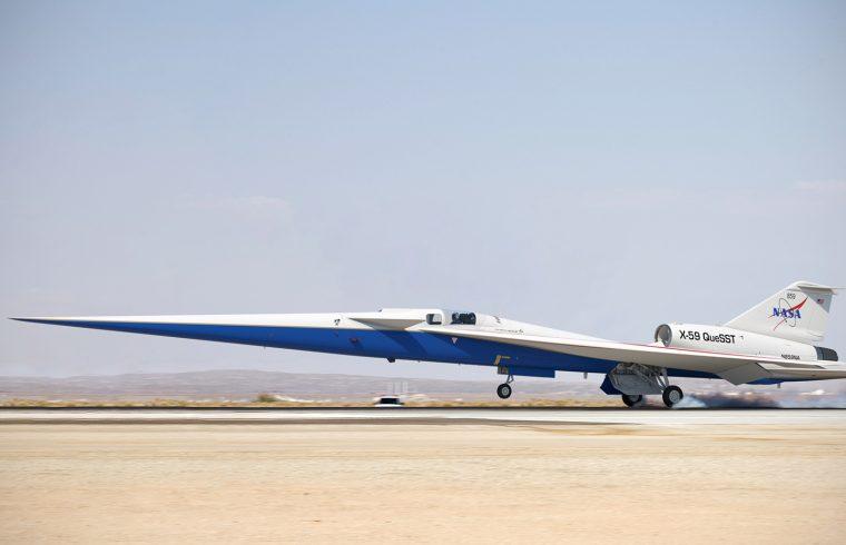 X-59 QueSST : L'avion supersonique de la NASA en cours d'assemblage