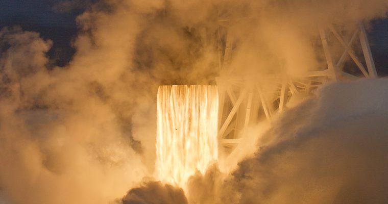 décollage du Falcon 9