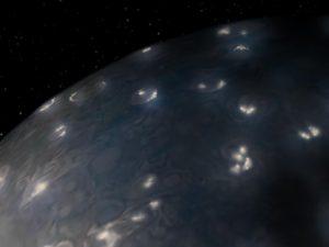 orages de Jupiter