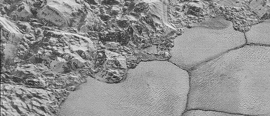 méthane solide sur Pluton