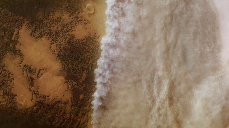 tempête martienne