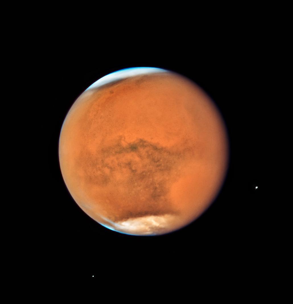 Mars par Hubble