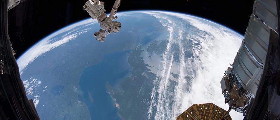 time lapse de la terre
