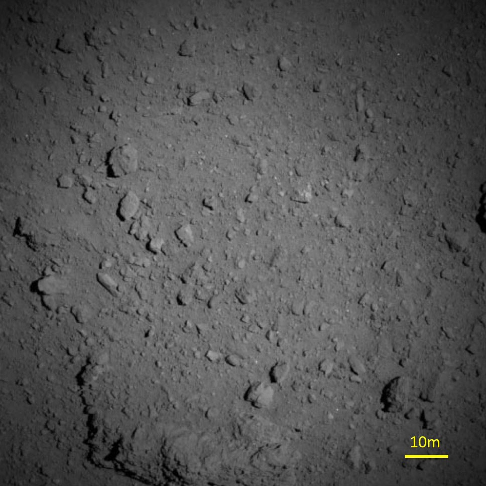 La Surface de Ryugu