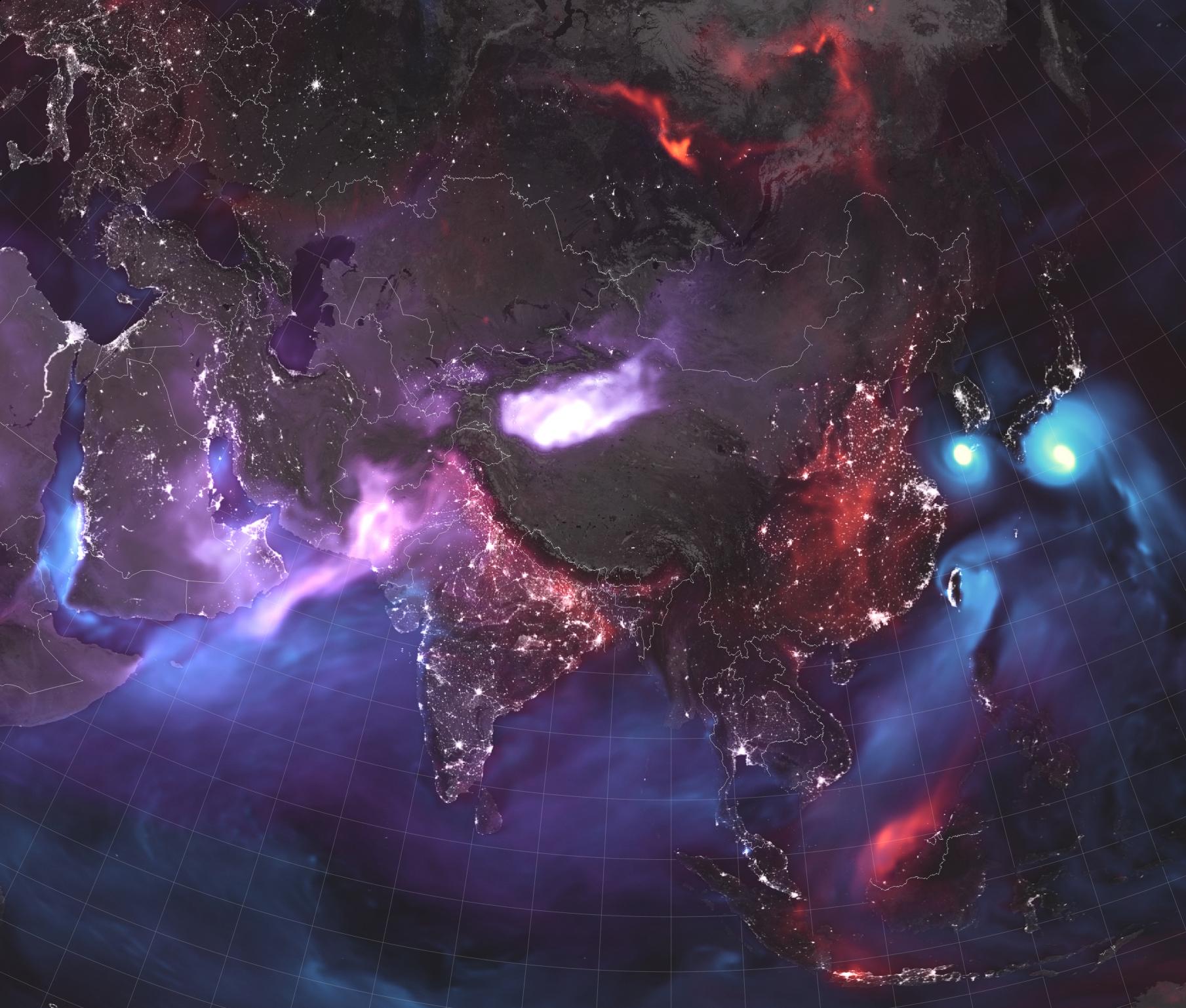 Zoom sur l'Asie