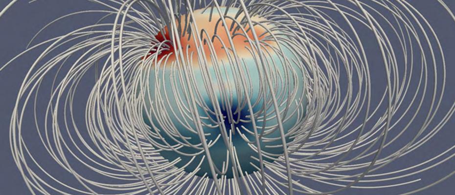 Les pôles magnétiques de Jupiter