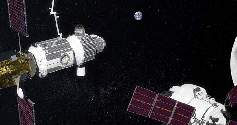 Station spatiale lunaire