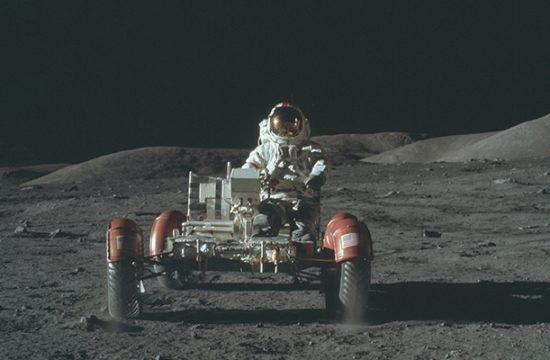 marché sur la Lune