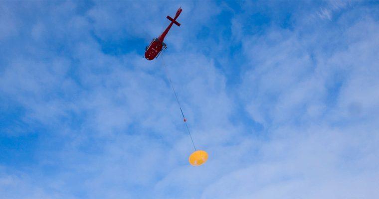 Le parachute de la mission Exomars