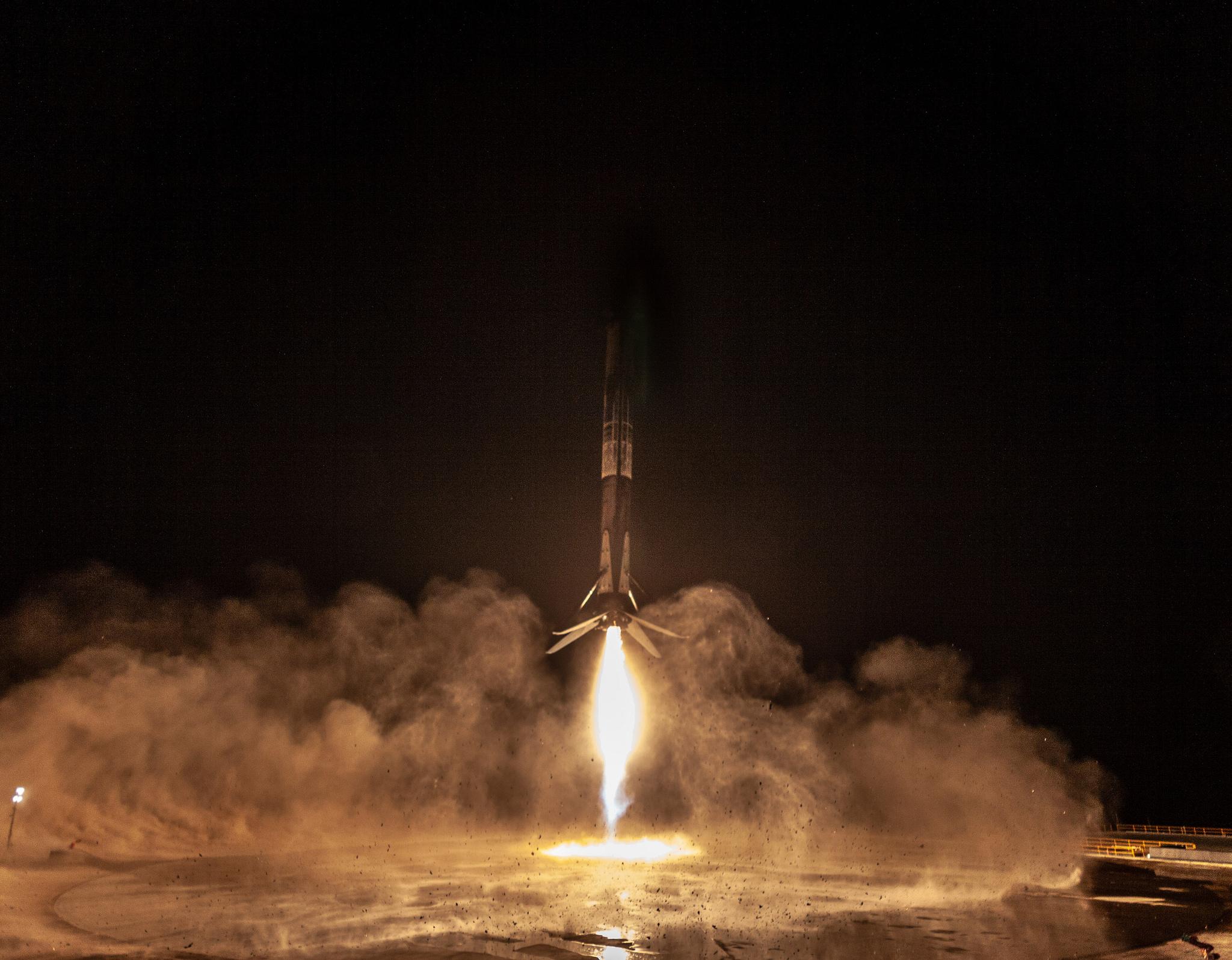Les photos du lancement de SpaceX
