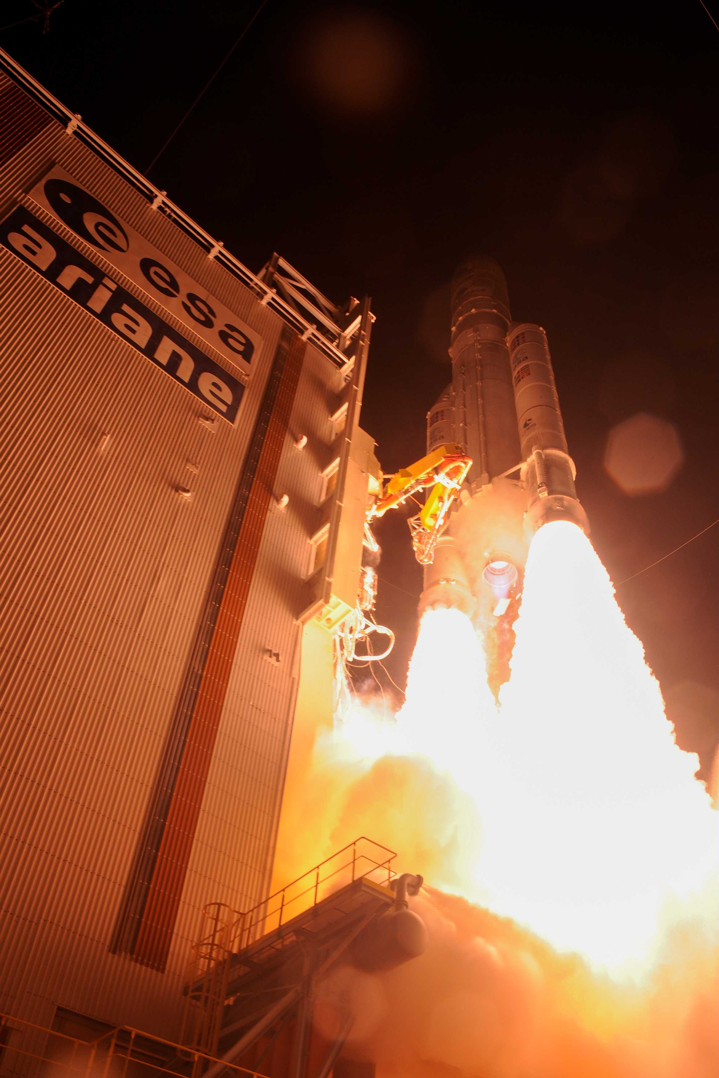 Lancement Ariane 5 (BepiColombo)