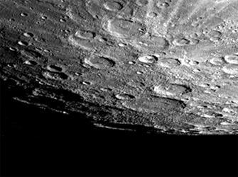 Survol de Mercure