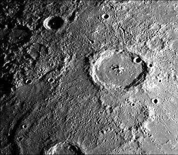 Cratère de Mercure