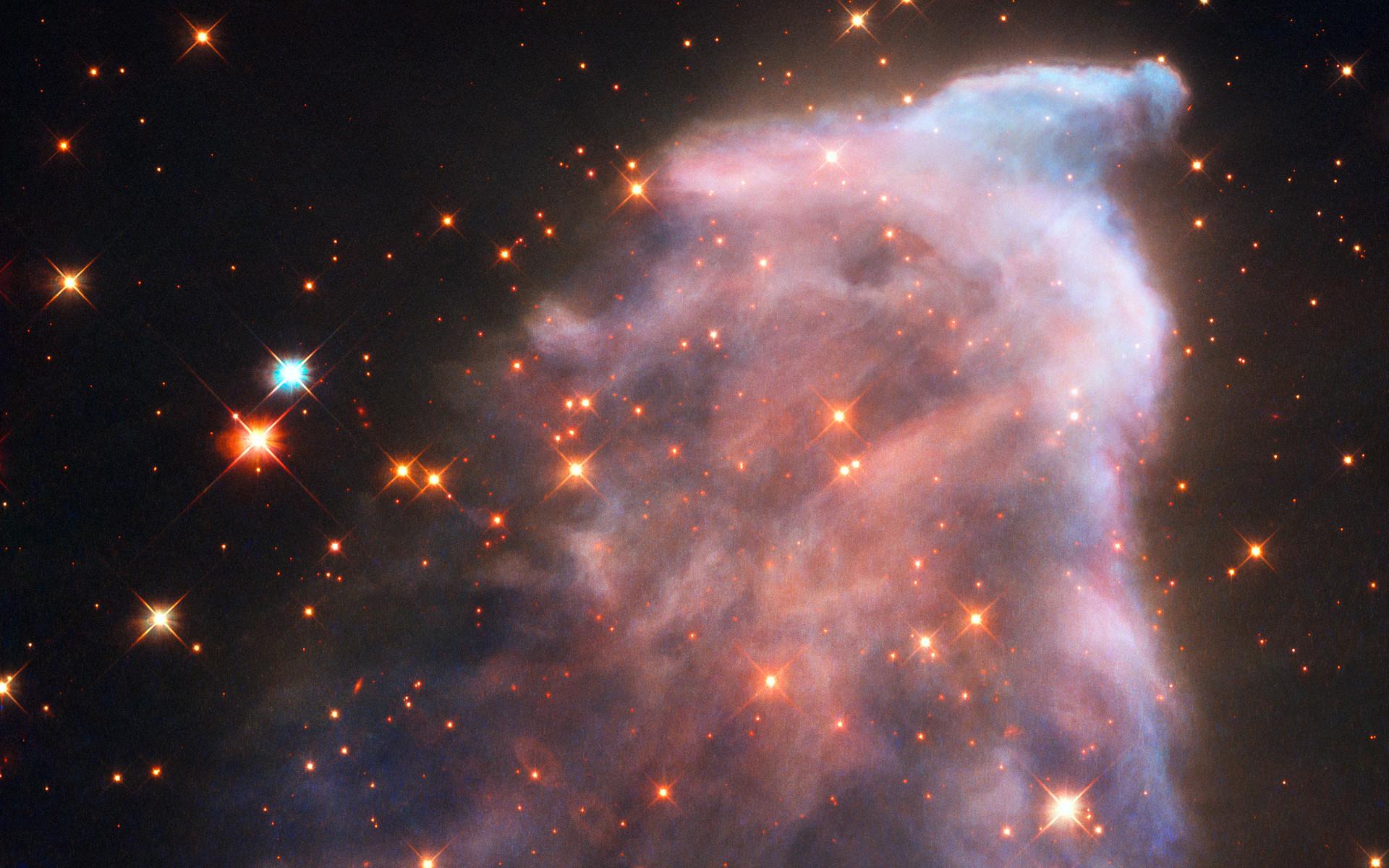 La nébuleuse IC 63