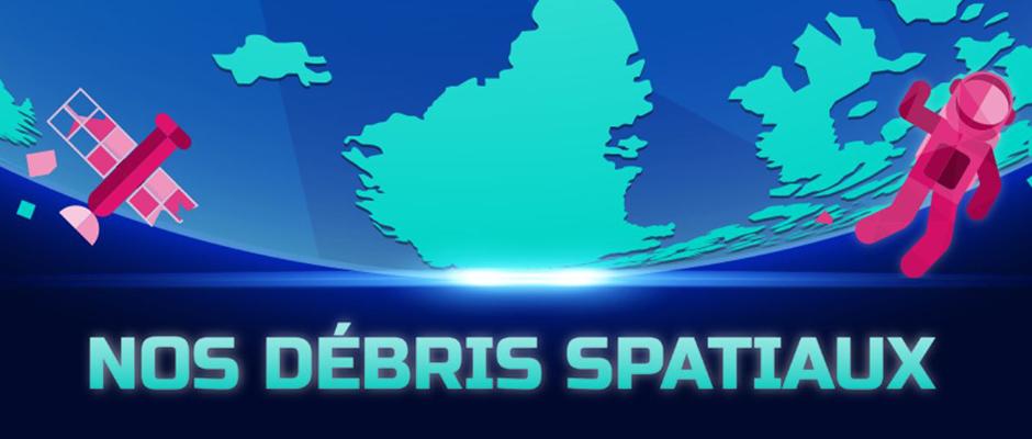 Infographie des débris spatiaux