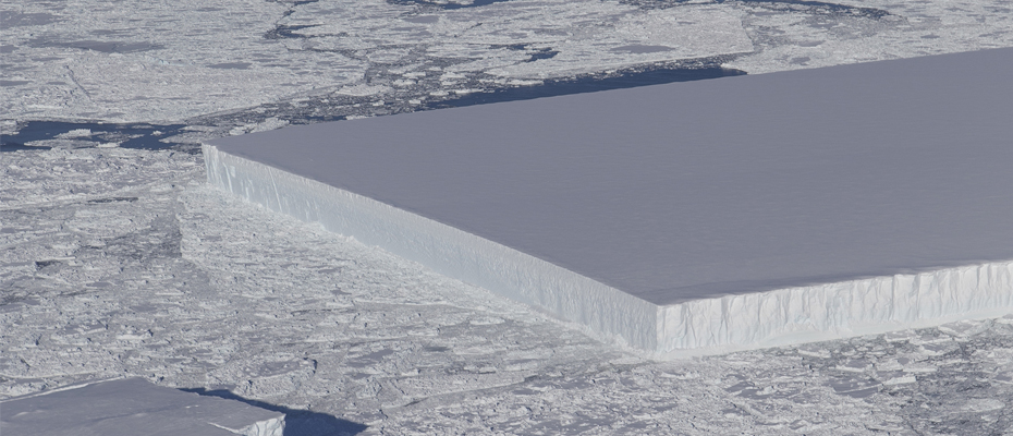 Iceberg rectangulaire
