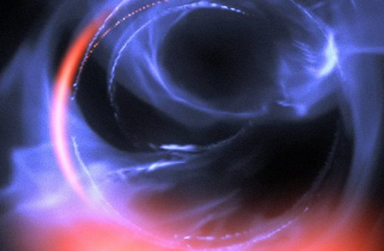trou noir au centre de la Galaxie