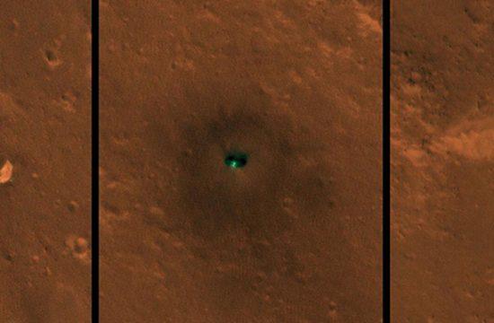 InSight vu depuis l'espace