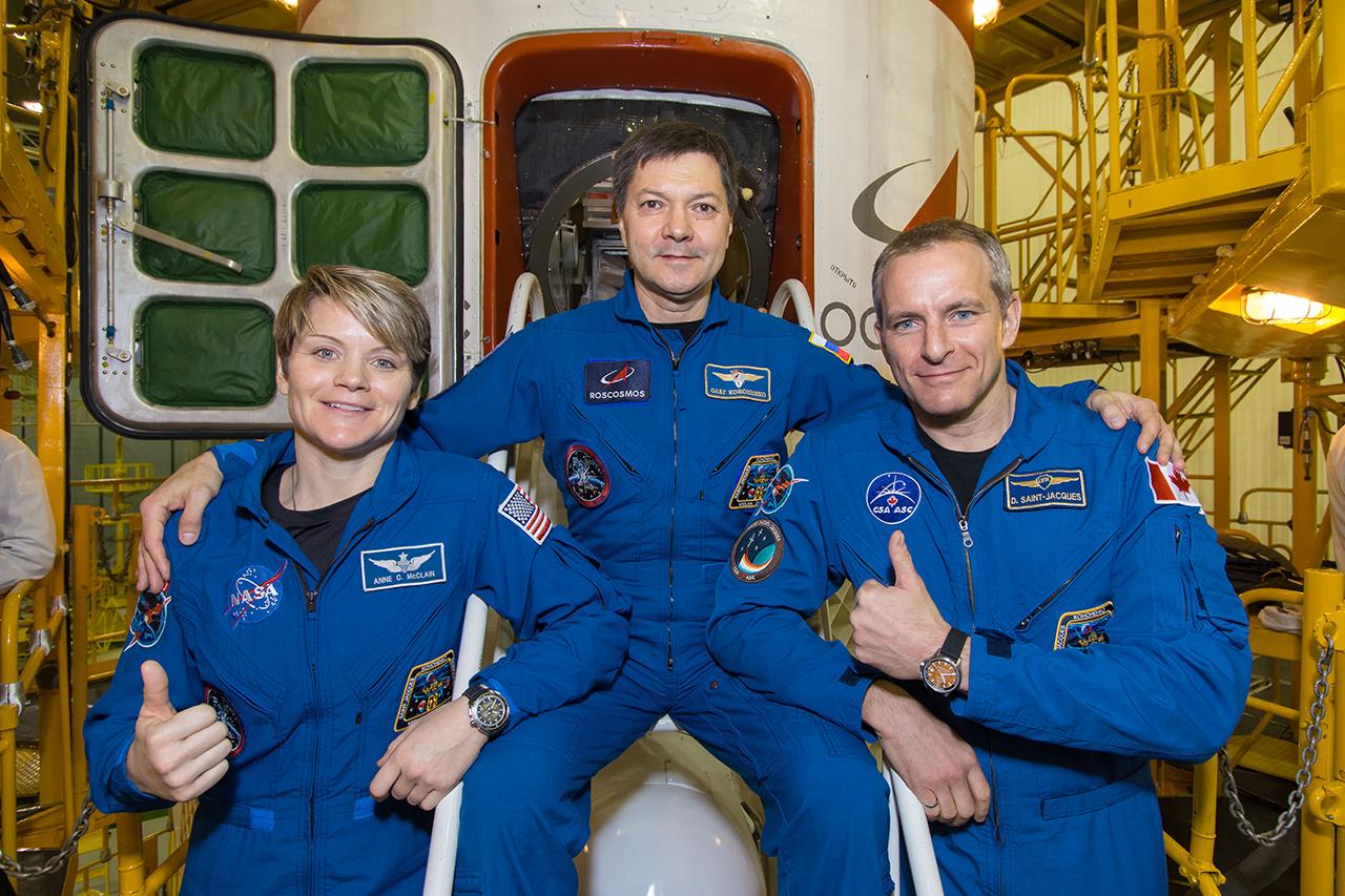 équipage de l'ISS