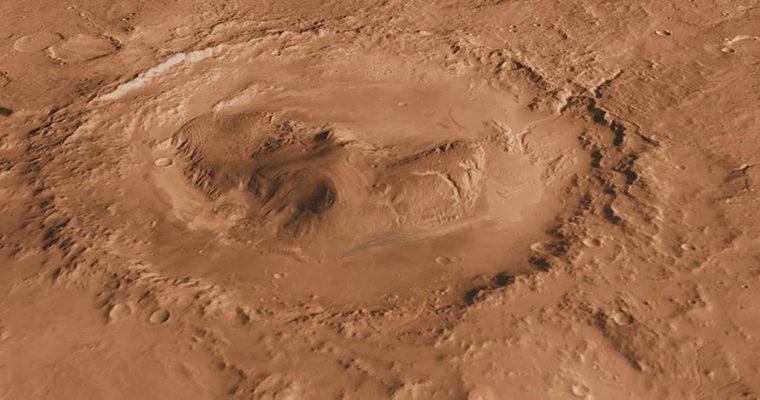 Curiosity dévoile un sous-sol martien poreux dans le cratère Gale