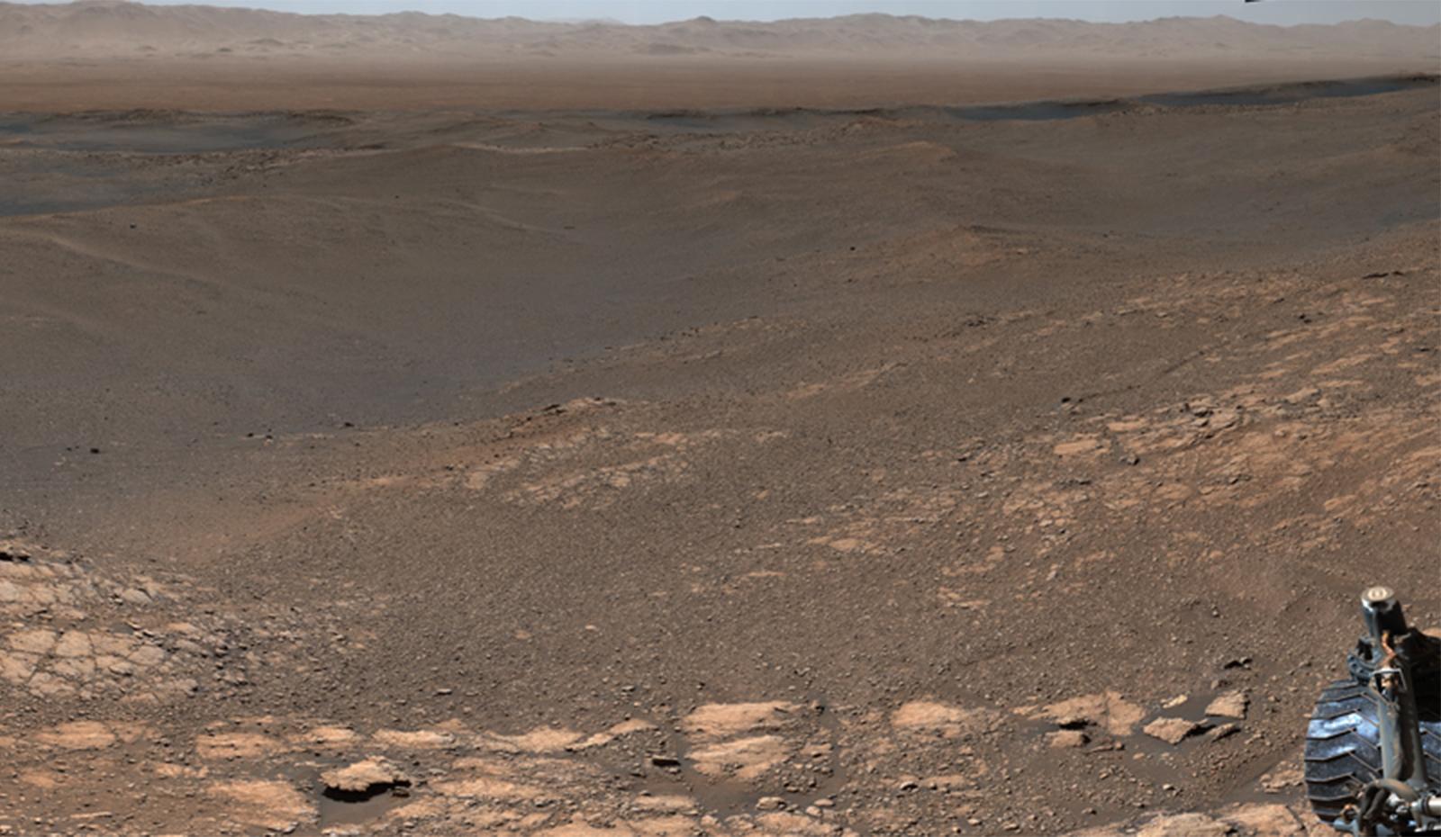 Un panorama de Mars