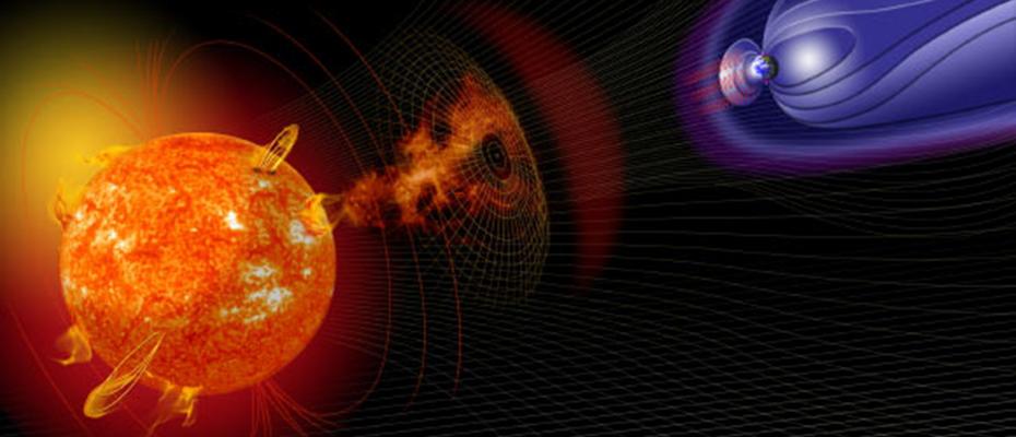 Grosse éruption solaire