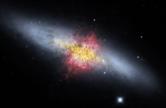 Galaxie du Cigare (M82)
