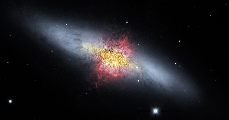 Galaxie du Cigare (M82)