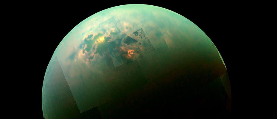 Les lacs de Titan