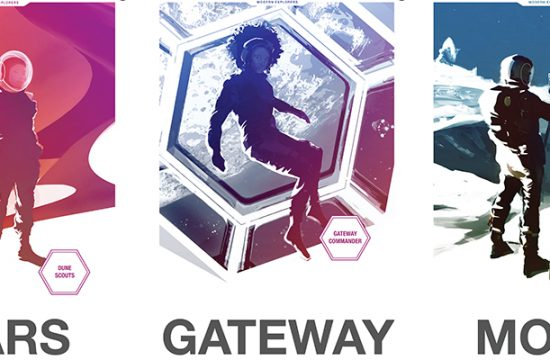 Trois posters de la NASA
