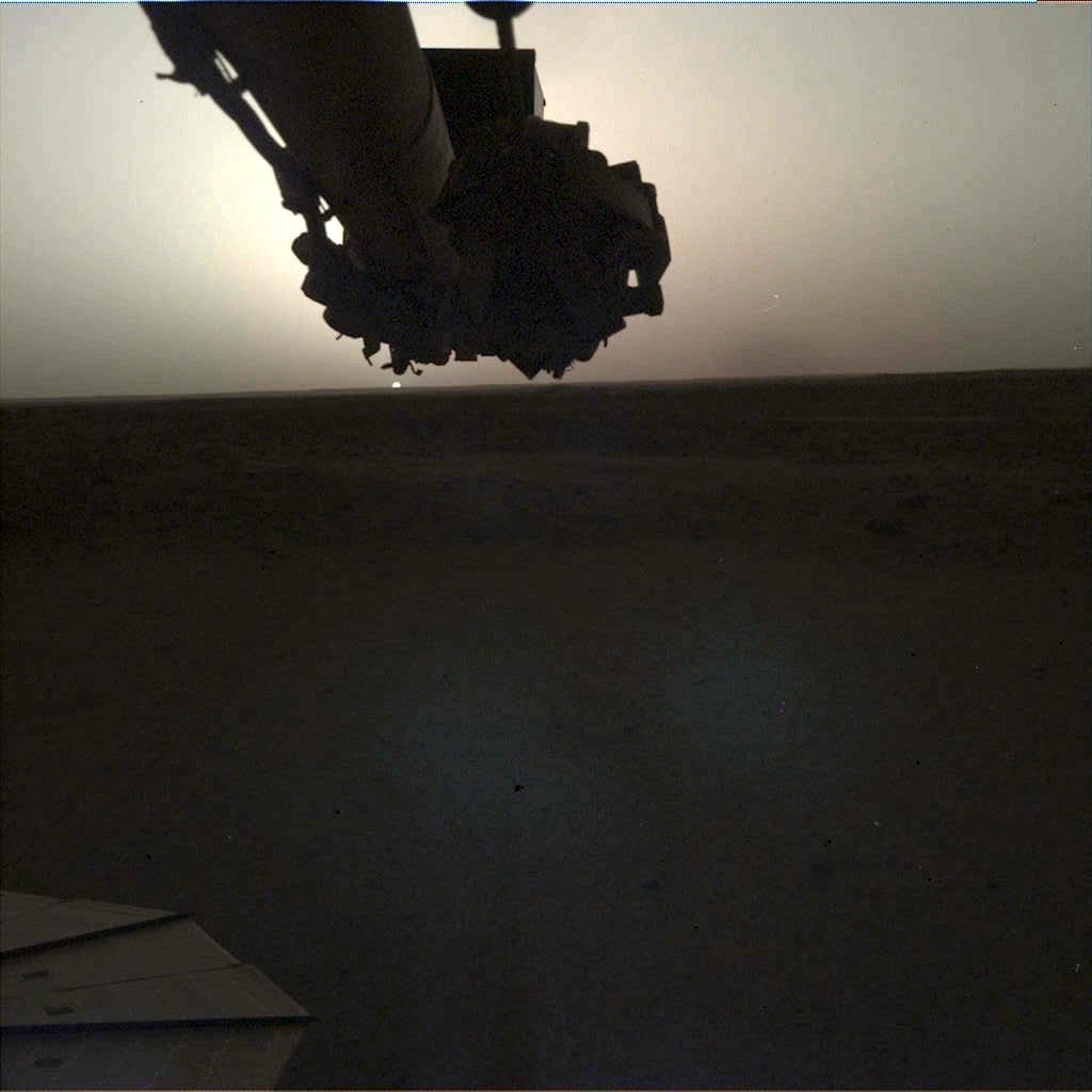Un lever de soleil sur Mars