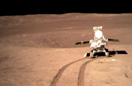 Le rover chinois yutu2
