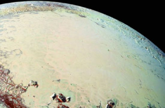 océan liquide de Pluton