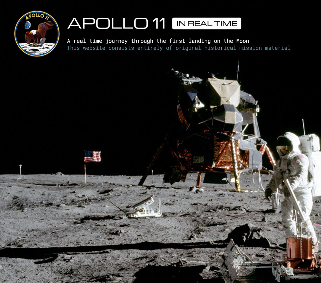 Revivez la mission Apollo 11 en temps réel