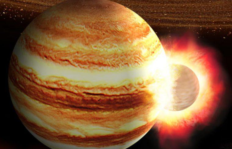 Un impact géant sur Jupiter