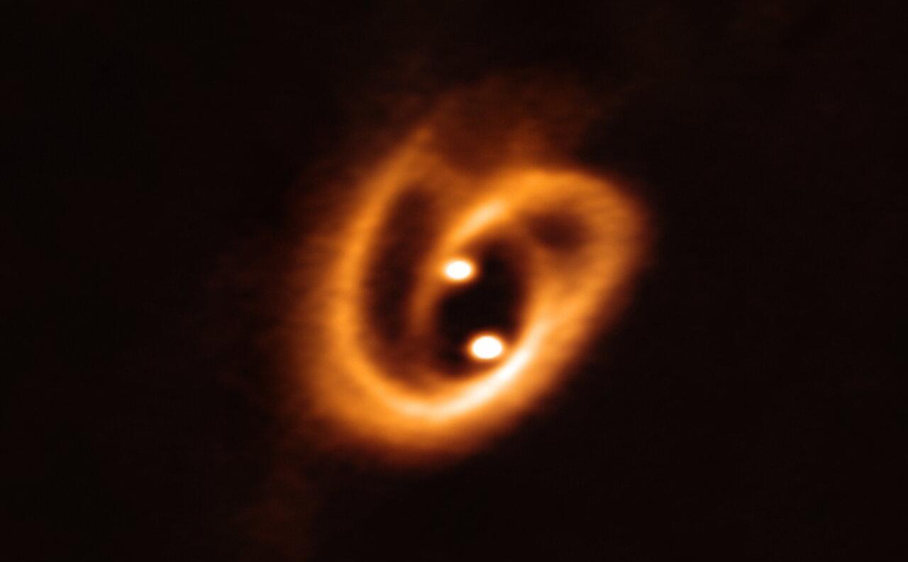 Un bretzel cosmique