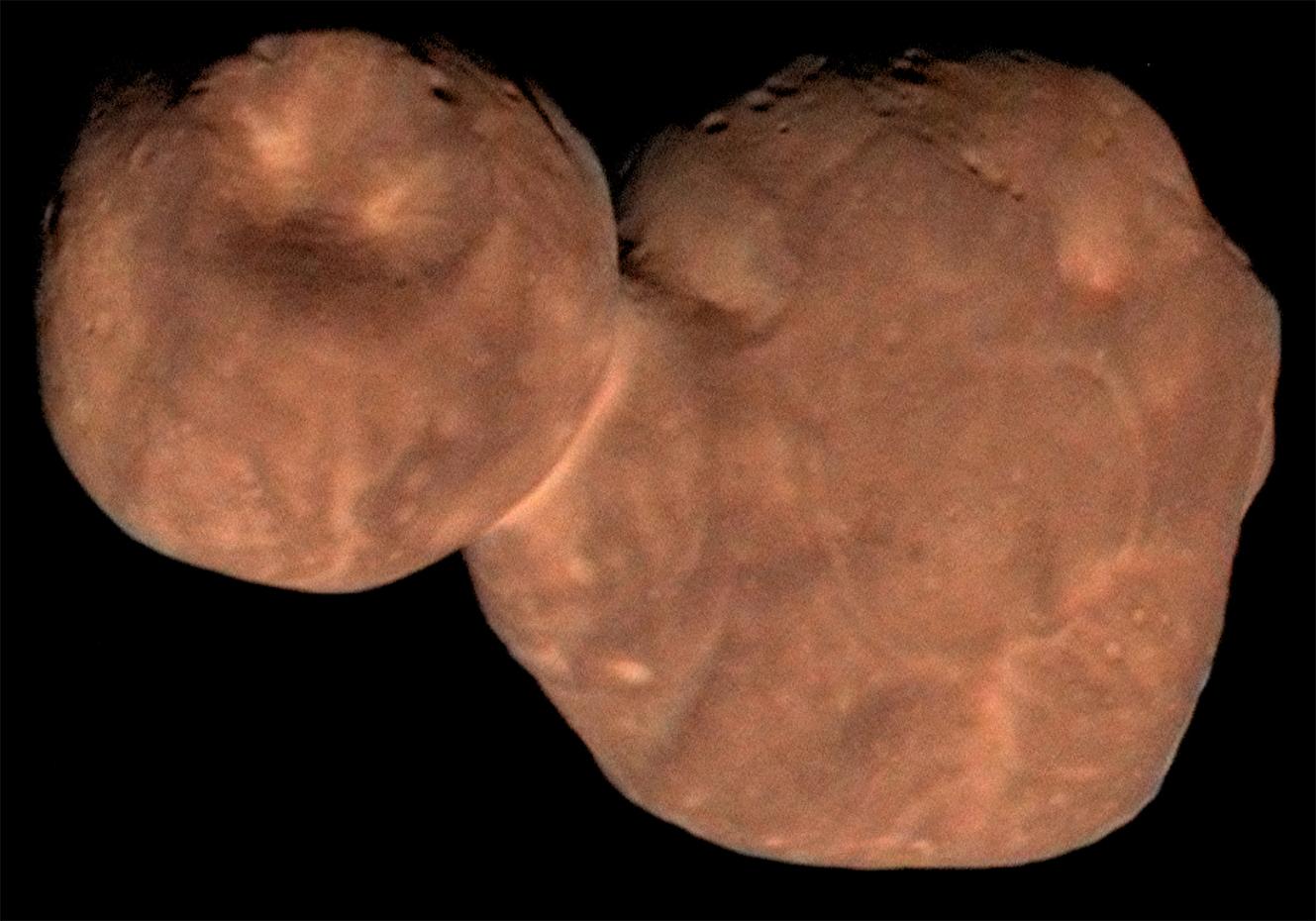 L'astéroïde Arrokoth