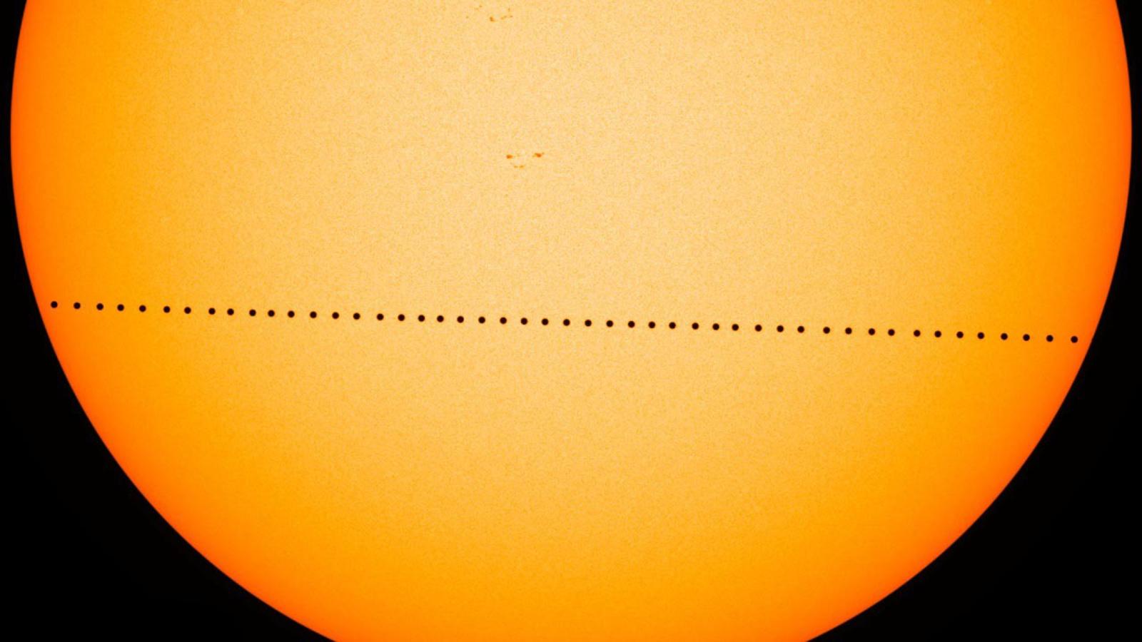 Le passage de Mercure devant le Soleil