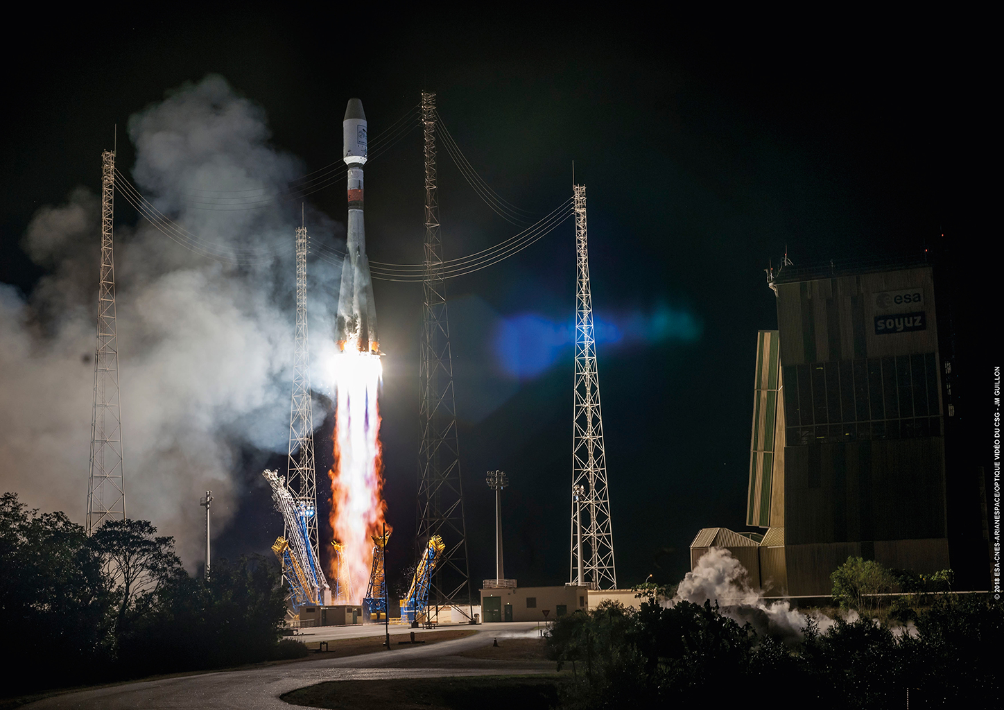 Lancement Soyouz (Arianespace - CSG)