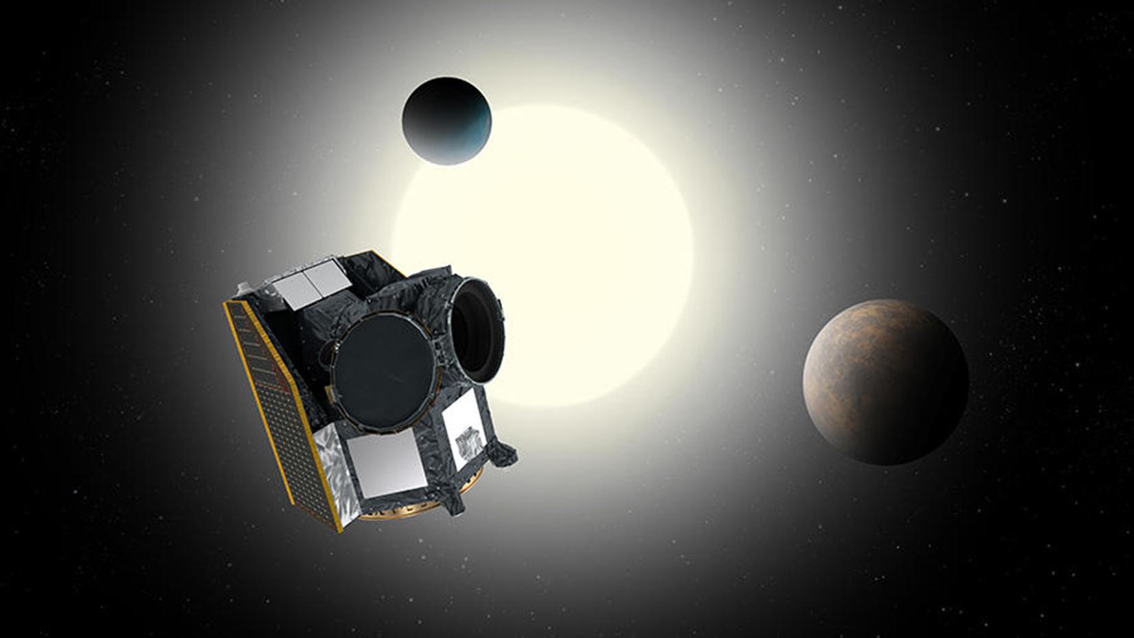 Le premier satellite Suisse, Cheops va caractériser des exoplanètes