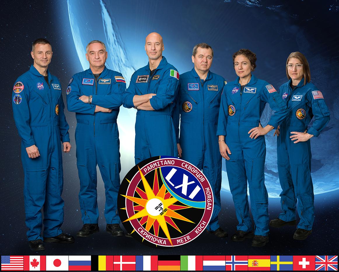 L'équipage de l'ISS