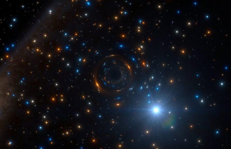 Découverte du plus gros trou noir stellaire de notre galaxie (Podcast)
