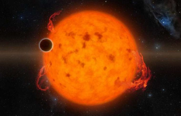 Des exoplanètes en zone habitable fortement irradiées