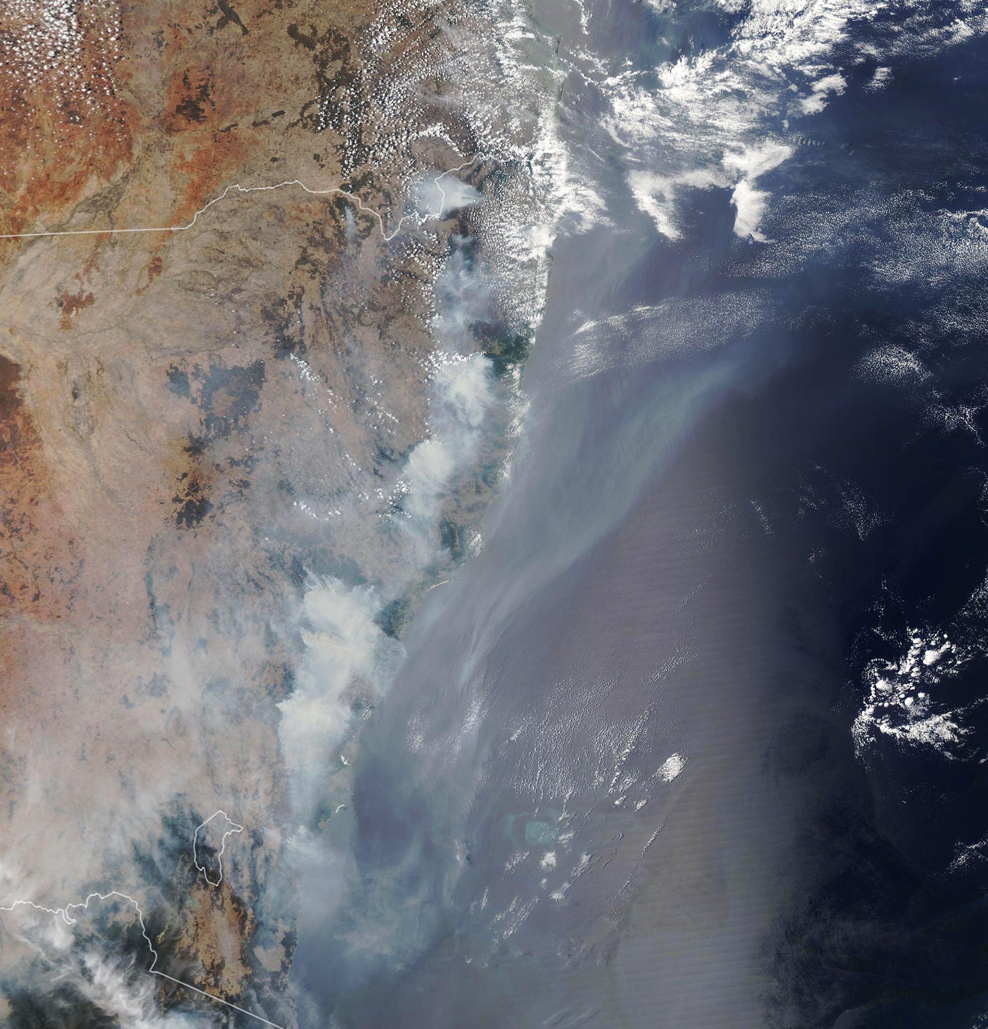 Les incendie australiens