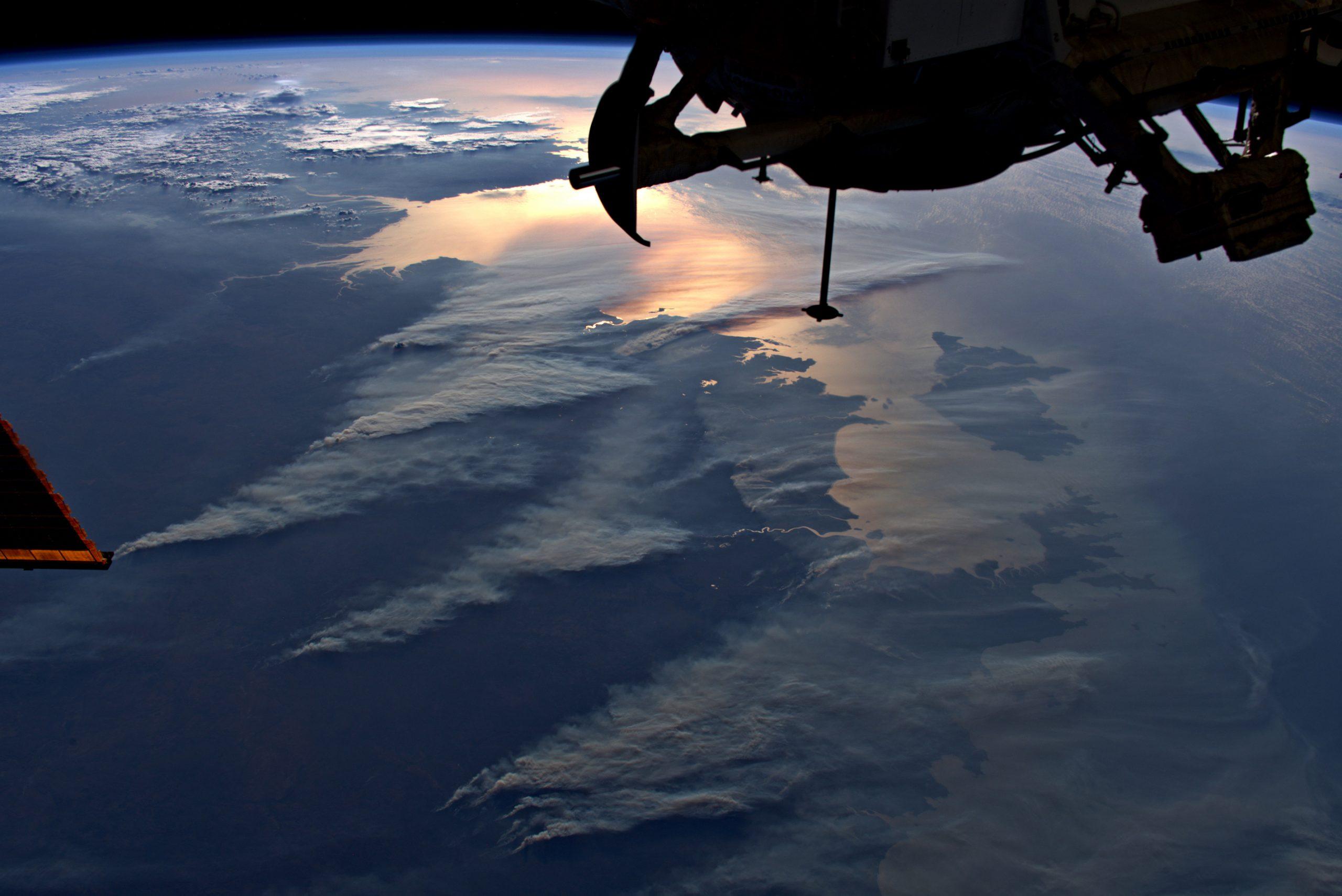 Les incendies en Australie observés depuis l'ISS